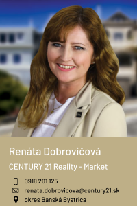 Renáta Dobrovičová, CENTURY 21 Reality - Market