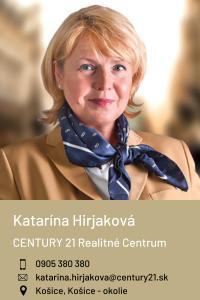 Katarína Hirjaková, CENTURY 21 Realitné Centrum