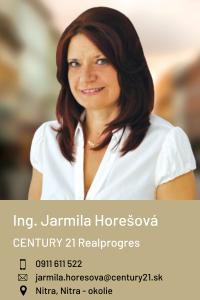 Ing. Jarmila Horešová, CENTURY 21 Realprogres