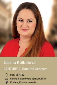 Kölbelová Darina, CENTURY 21 Realitné Centrum