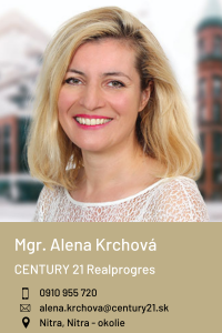 Mgr. Alena Krchová, CENTURY 21 Realprogres
