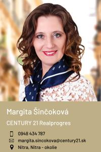 Margita Šinčoková, CENTURY 21 Realprogres