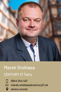 Marek Stoklasa, CENTURY 21 Tatry