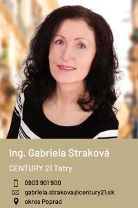 Ing. Gabriela Straková, CENTURY 21 Tatry