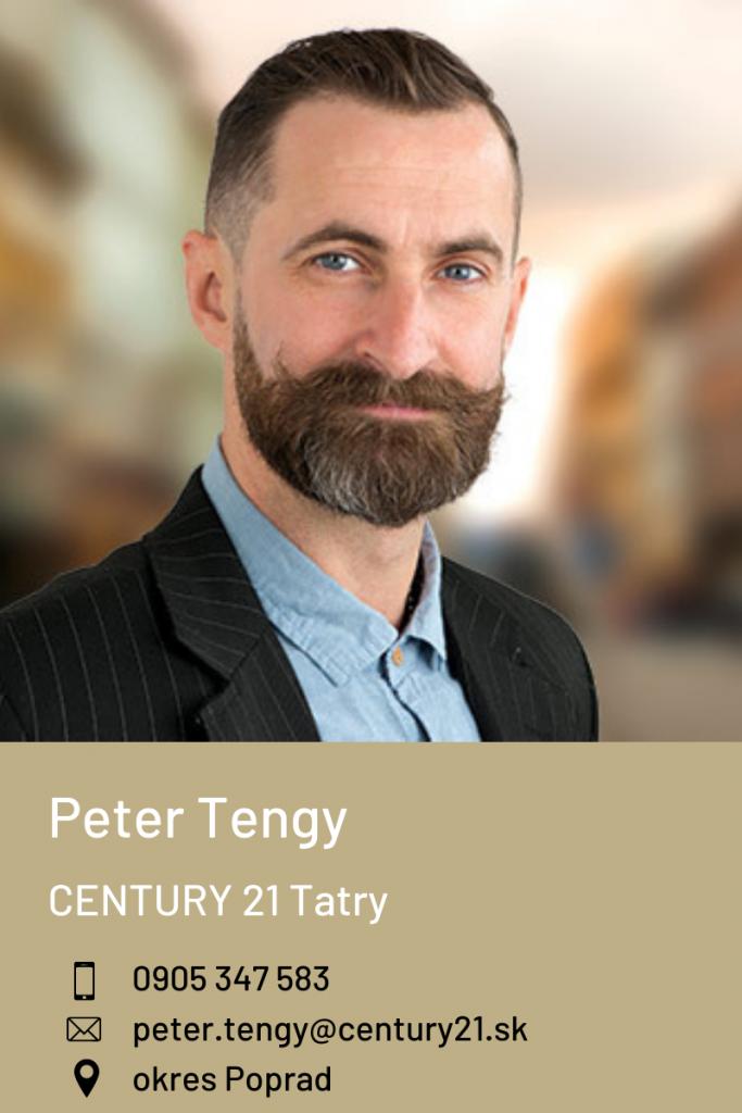 Peter Tengy, CENTURY 21 Tatry
